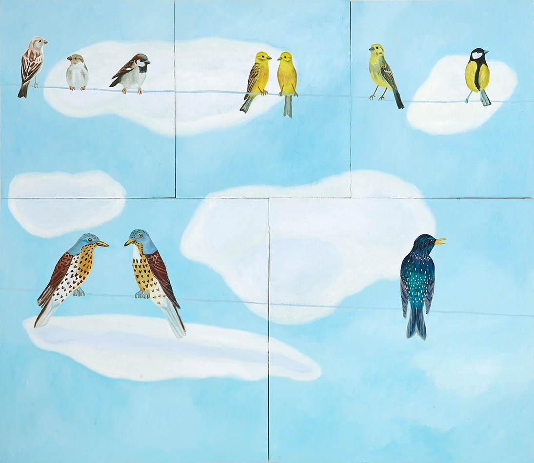 Fåglar på tråd